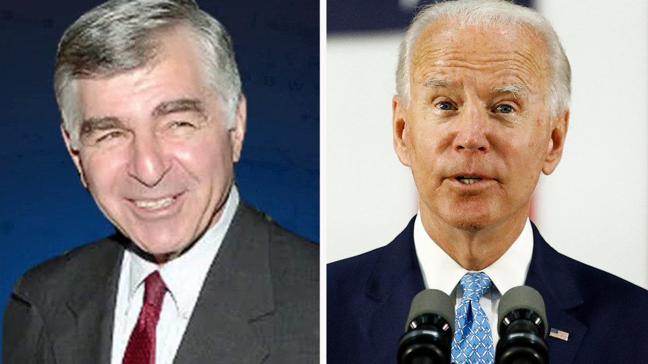 Dukakis warns there's no guarantee of success for Biden despite big lead in national polls