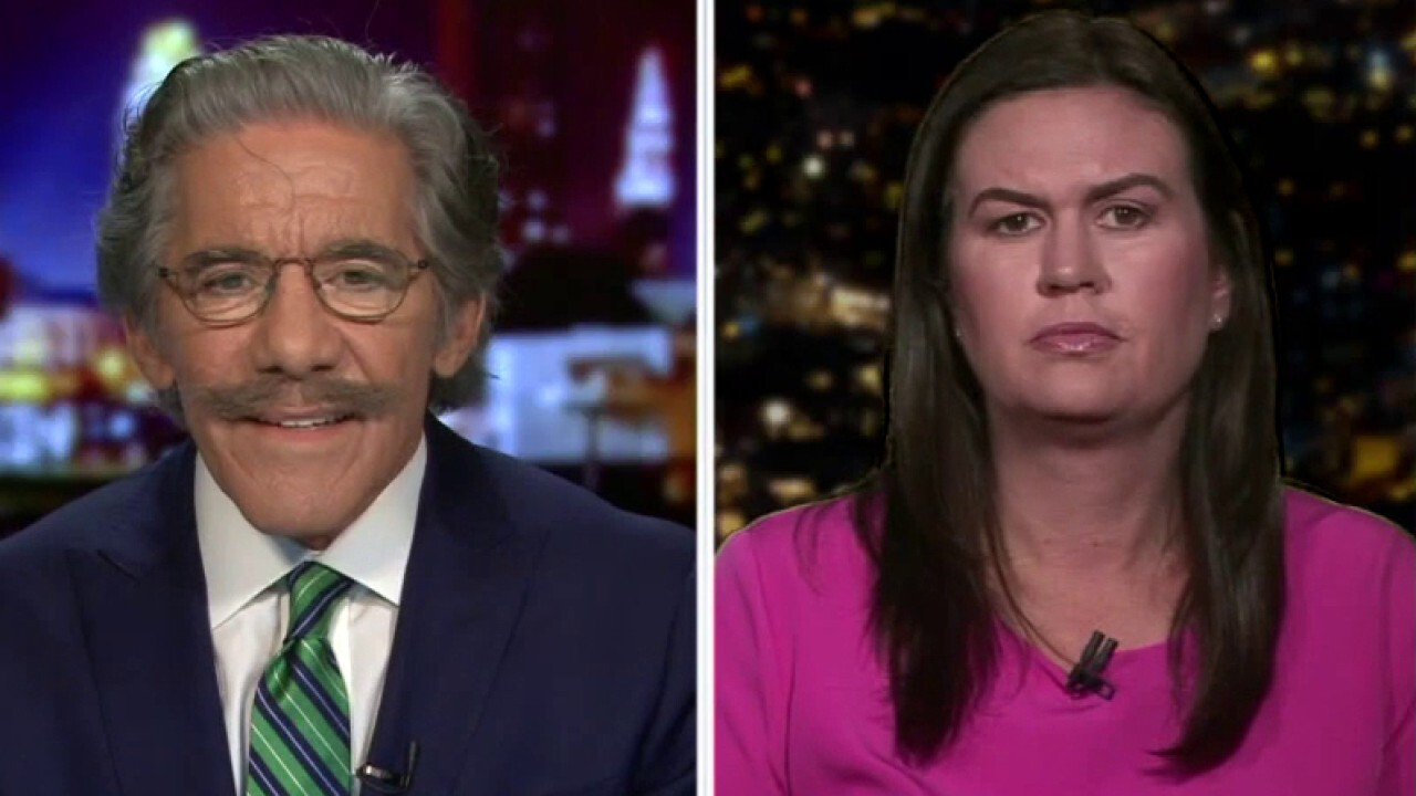 Geraldo Rivera, Sarah Sanders on radical Democrats promoting 'defund the police' movement