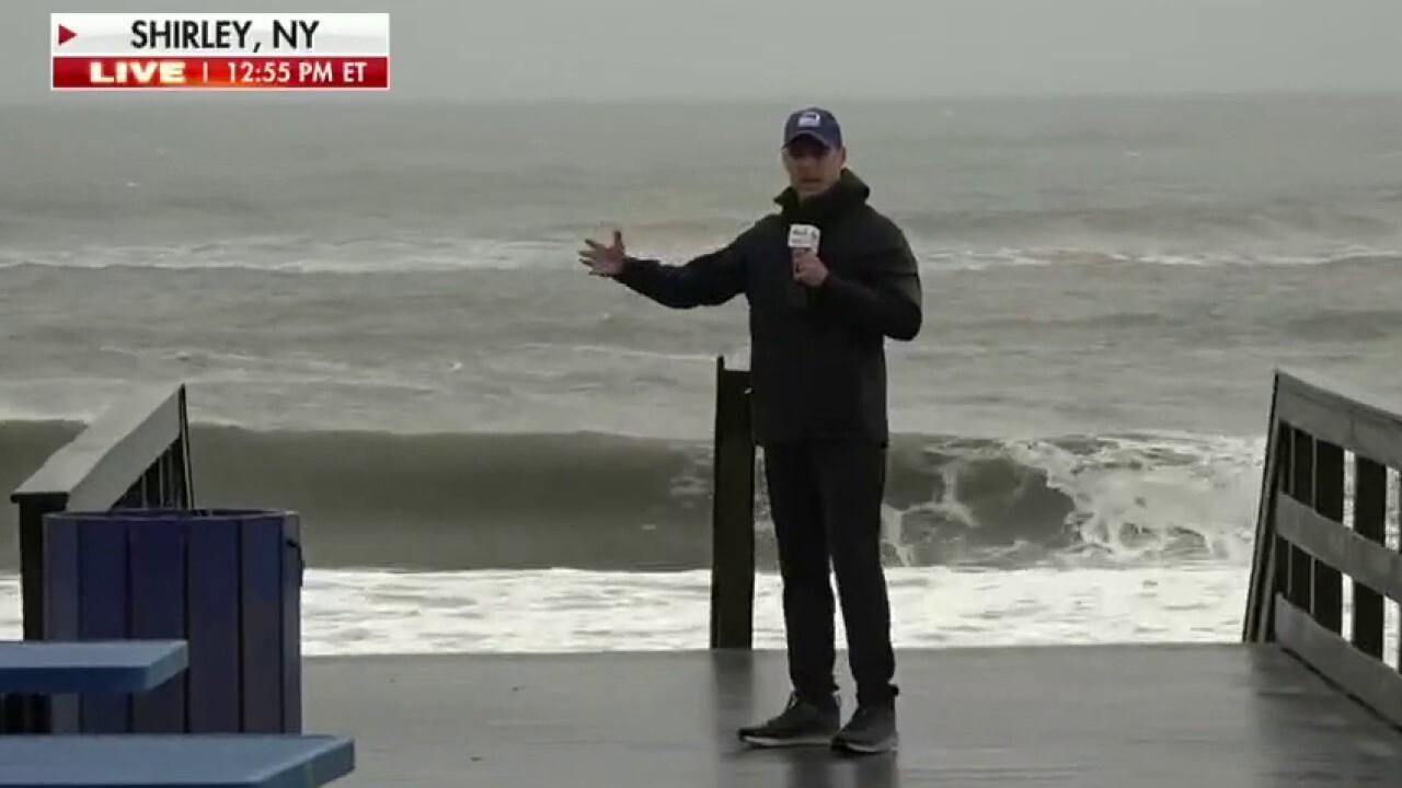 Heavy rain, storm surge threaten Long Island as Tropical Storm Henri makes landfall