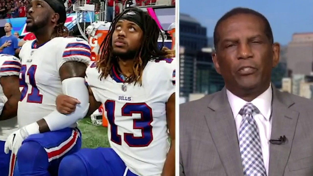 Burgess Owens on NFL protests: 'It's about the flag, period!'