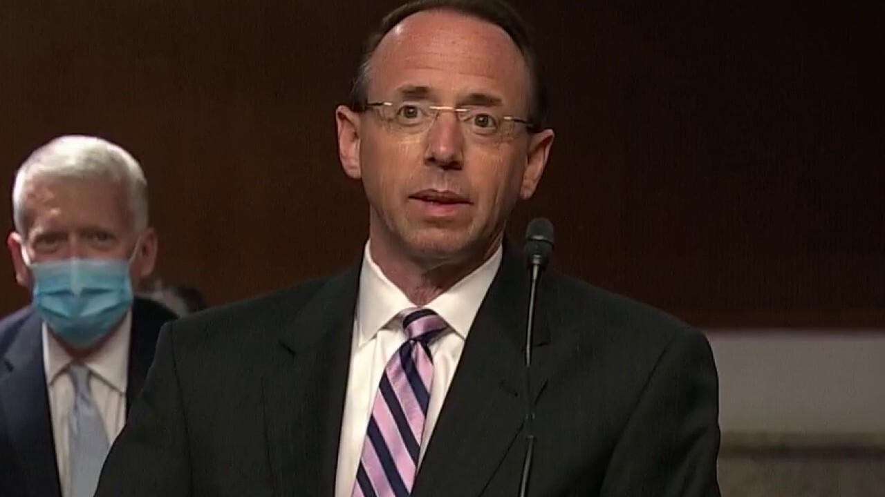 Senators press Rod Rosenstein on approving Carter Page surveillance