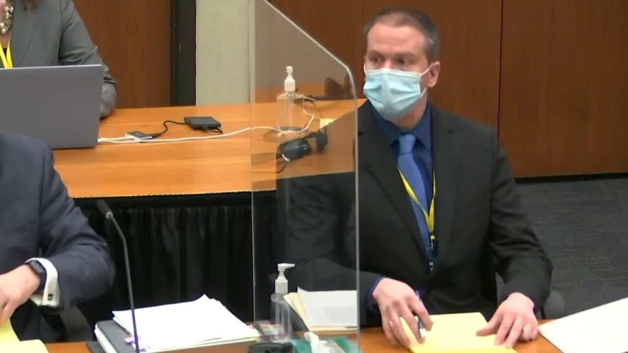 Gregg Jarrett: Derek Chauvin prosecutors meet burden of proof in trial