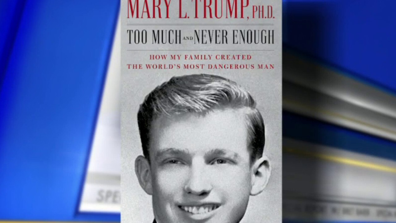 Mary Trump presents scathing portrait of the president in new book