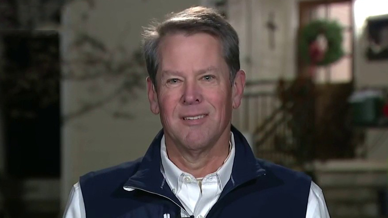 Georgia Gov. Kemp not worried about primary challenge, focused on Senate races