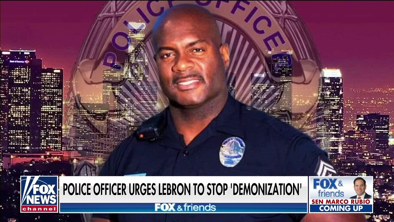 'Friends' hosts call on LeBron James to sit down with LAPD officer