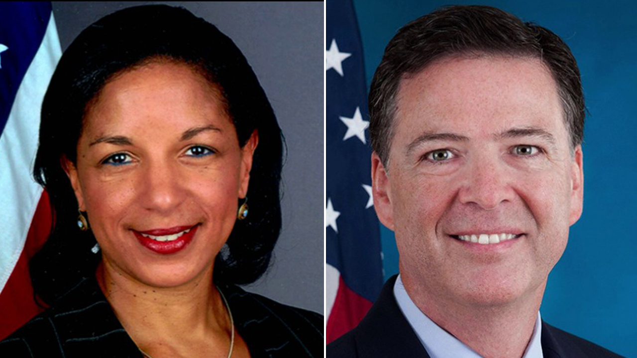 Rice memo confirms Comey briefed Obama, Biden on Flynn concerns in January 2017