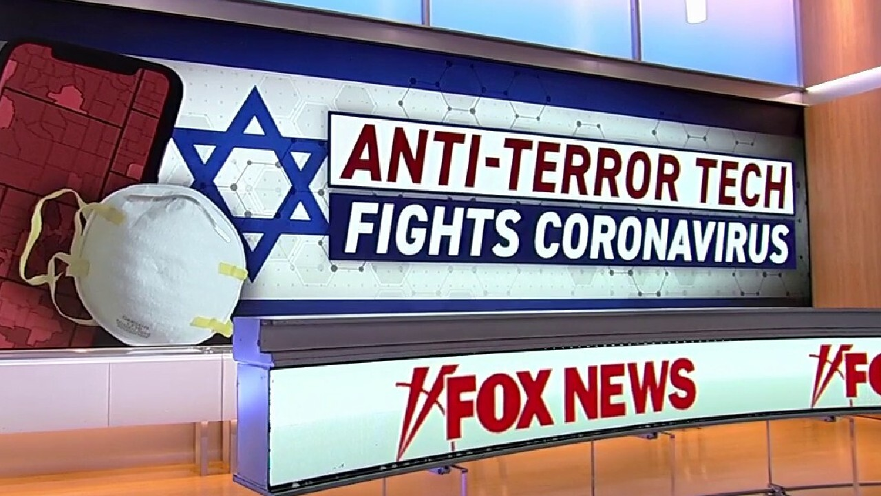 Image result for israel coronavirus trcking foxnews