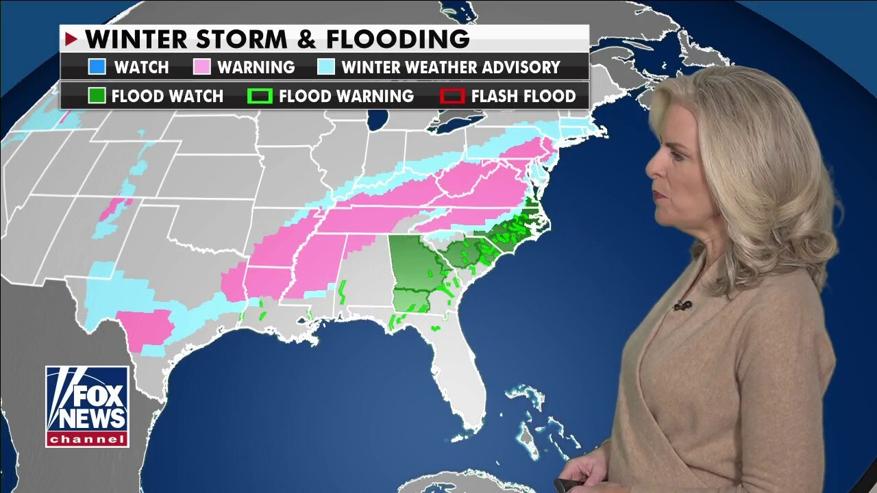 National Forecast, Feb. 18