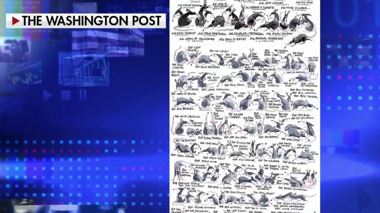 Washington Post's ugly cartoon