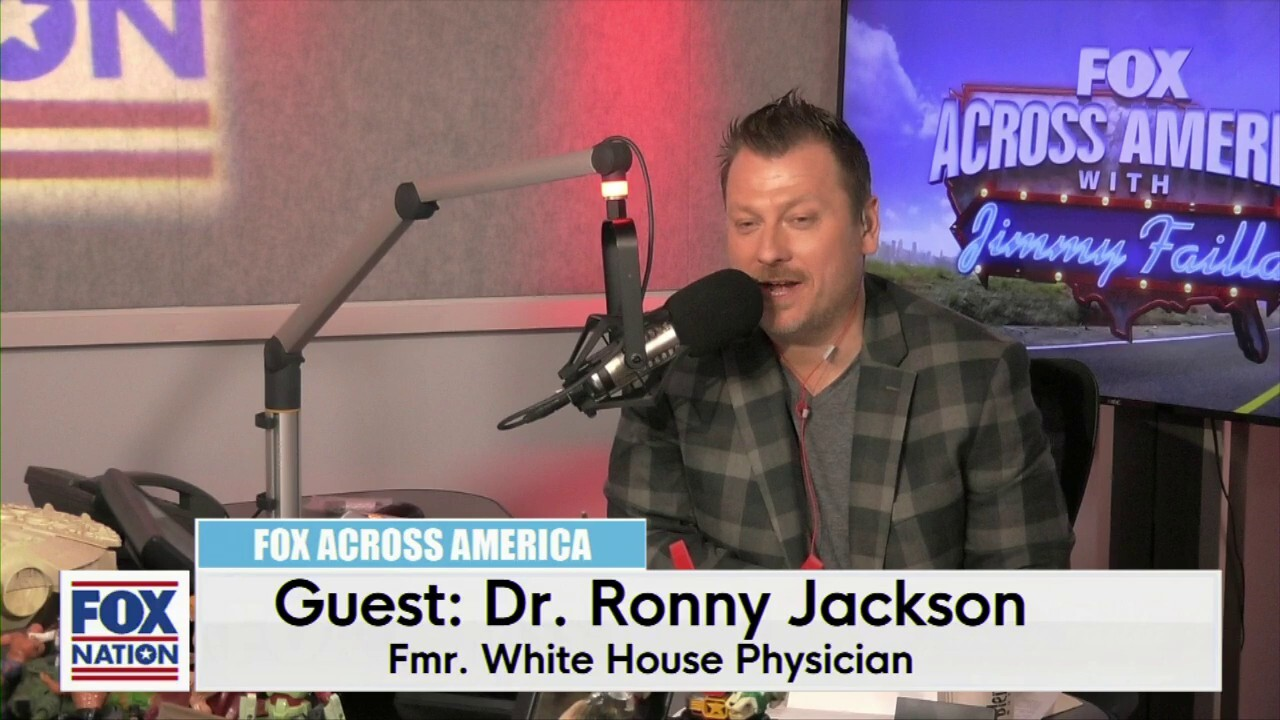 Jimmy Failla and Dr. Ronny Jackson