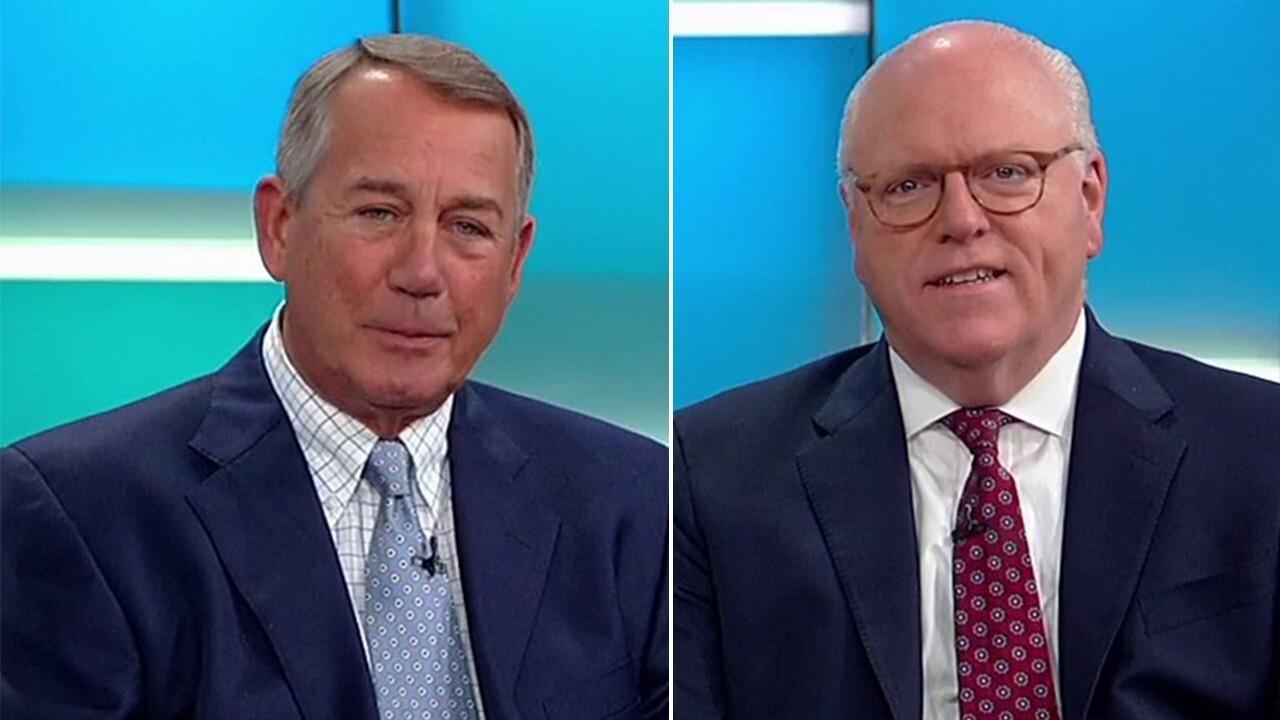 John Boehner, Joe Crowley on Democrat debate, AOC, multi-employer pension crisis
