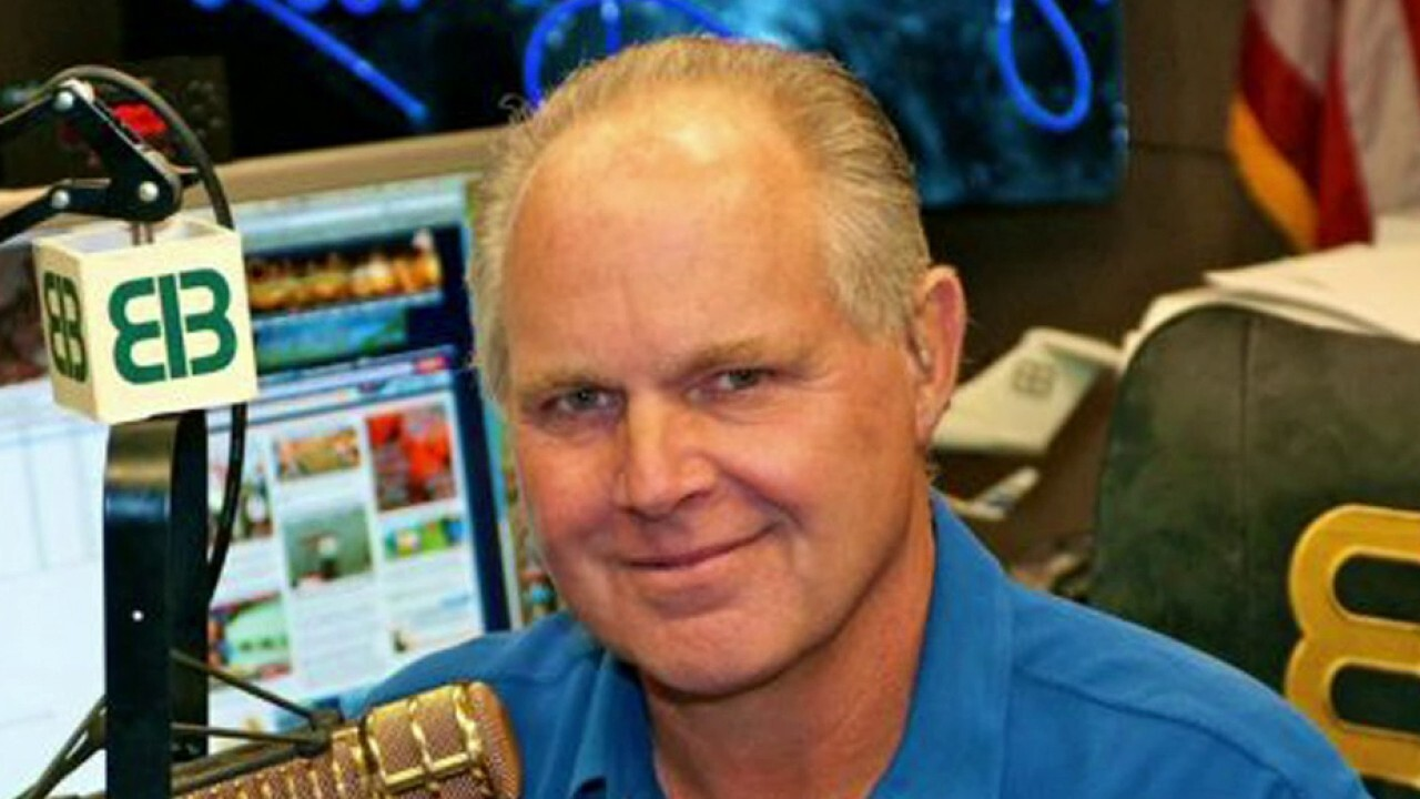 President Trump expected to announce he will award Presidential Medal of Freedom to Rush Limbaugh