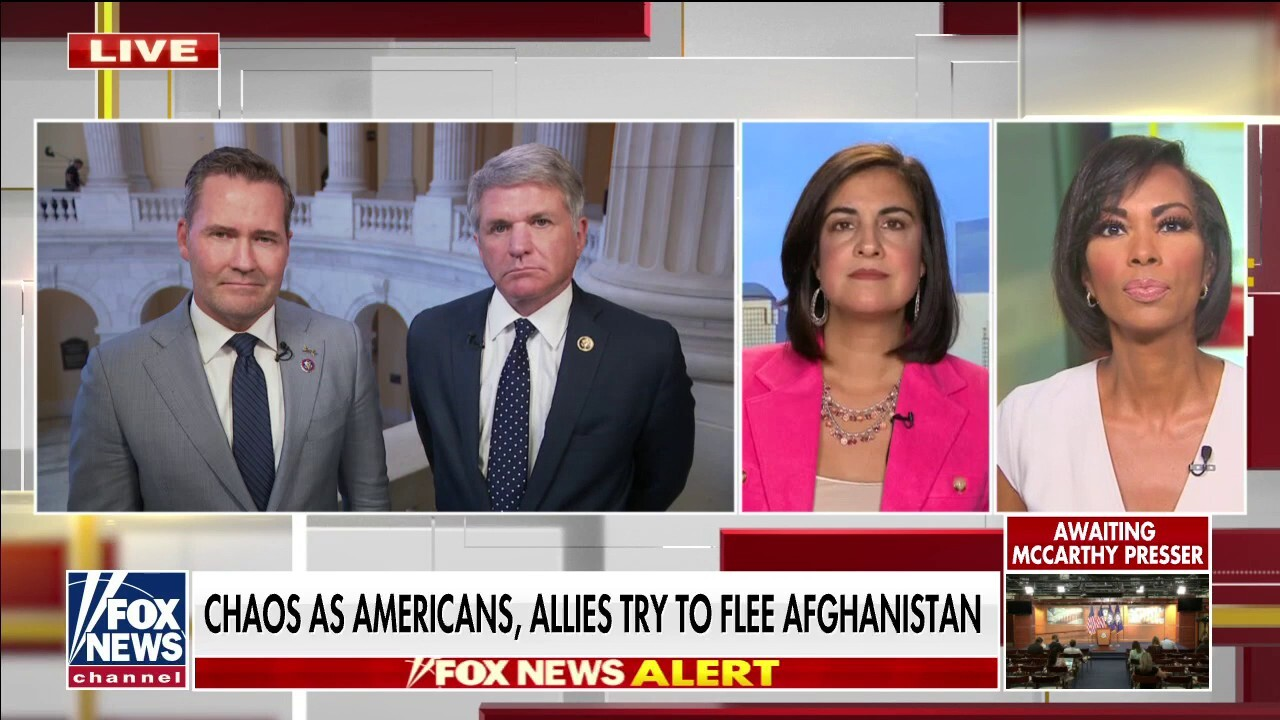 Republicans torch Biden's 'lack of leadership' as Afghanistan withdrawal deadline remains in place
