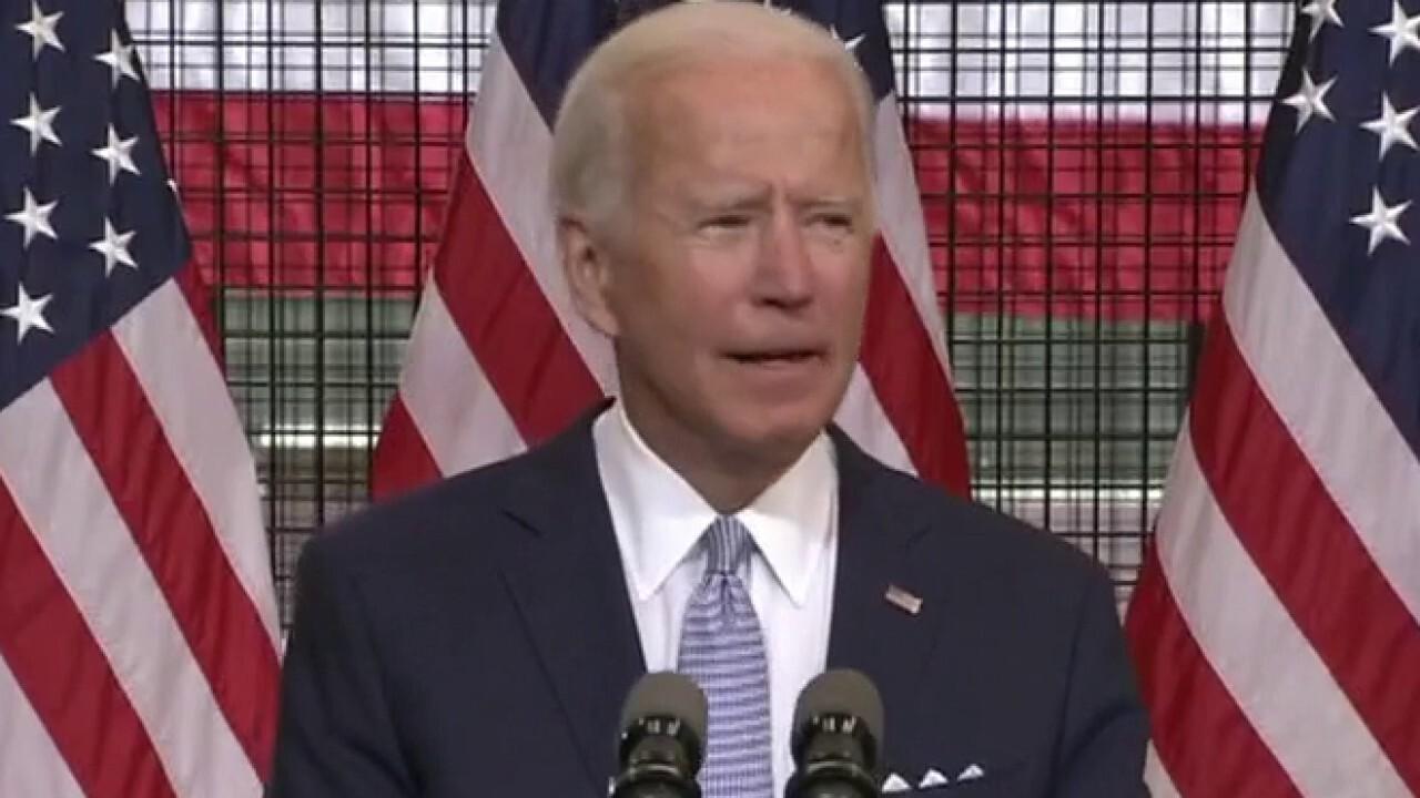 Joe Biden slams President Trump's handling of violence across America
