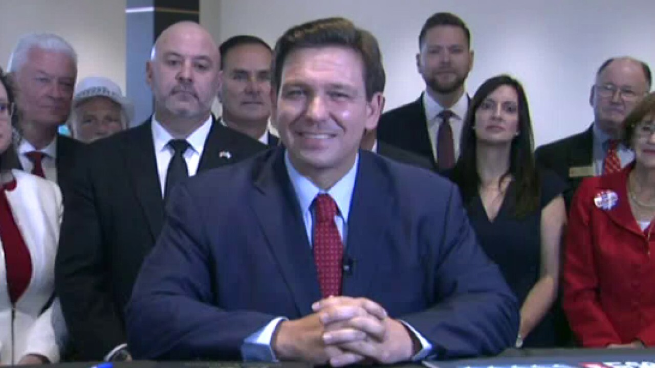 DeSantis signs election bill, marks one-year since state's phased reopening
