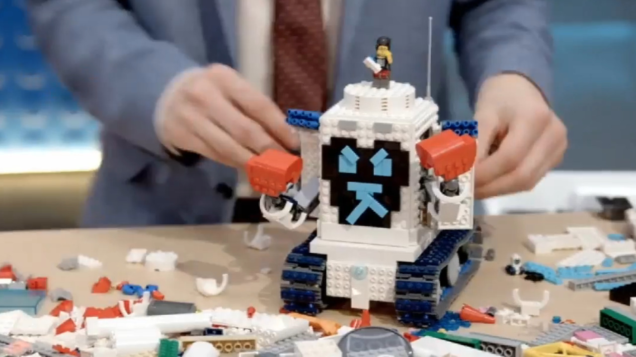 The 'Lego Masters' competitors test their skills in a good versus evil storytelling challenge