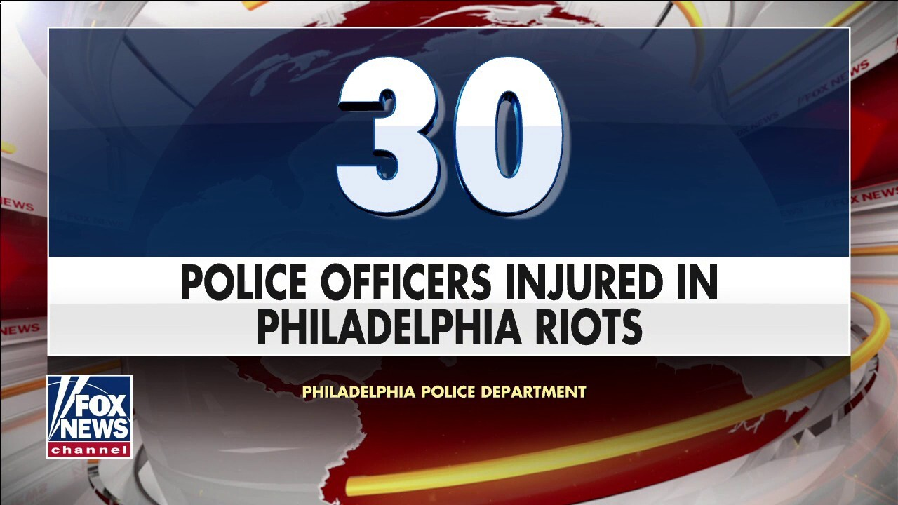 Riots break out in Philadelphia following police shooting