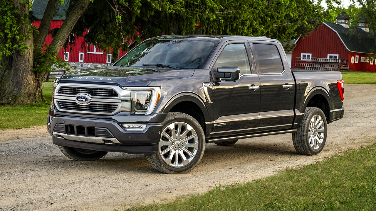2021 Ford F-150 revealed