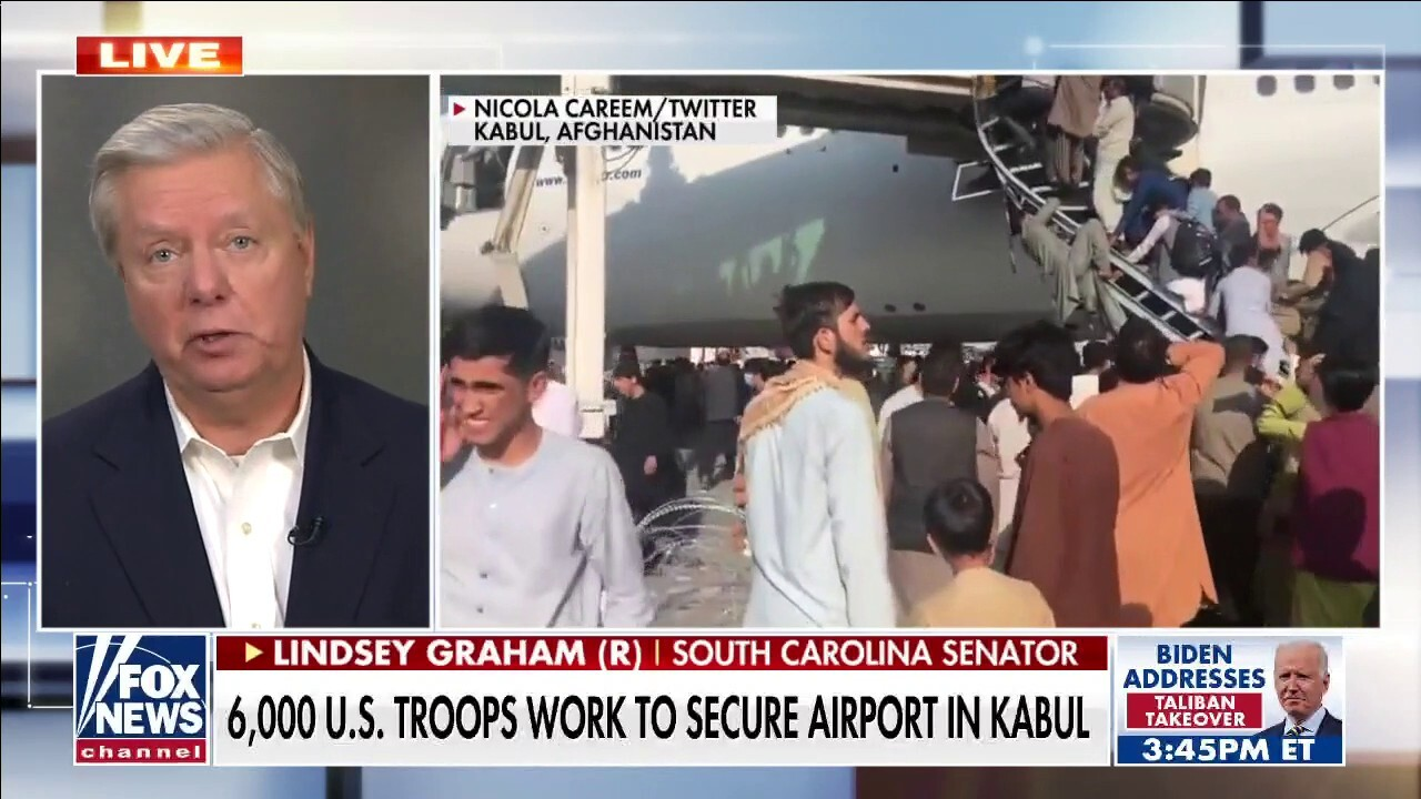 Lindsey Graham: Trump would not have withdrawn from Afghanistan if chaos was going to result