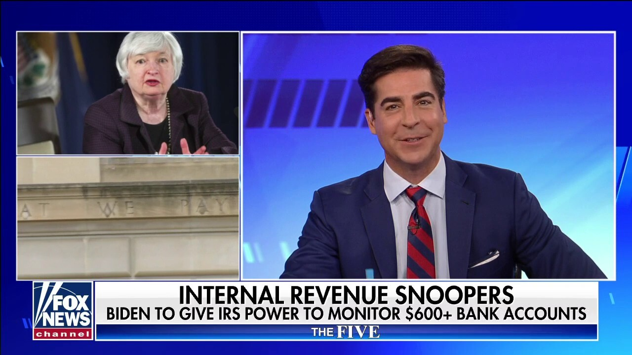 'The Five' slam IRS' proposal: 'Many people don't allow their spouse to look at their checkbook'