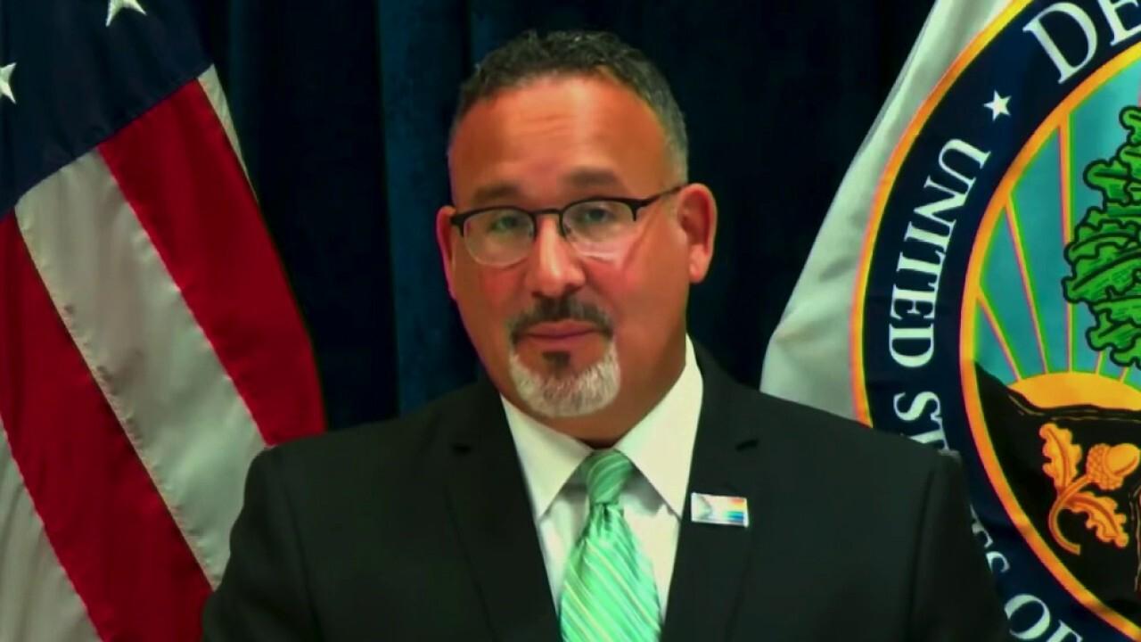 GOP Rep. Tim Walberg grills Education Secretary Miguel Cardona on admin's endorsement of 1619 Project
