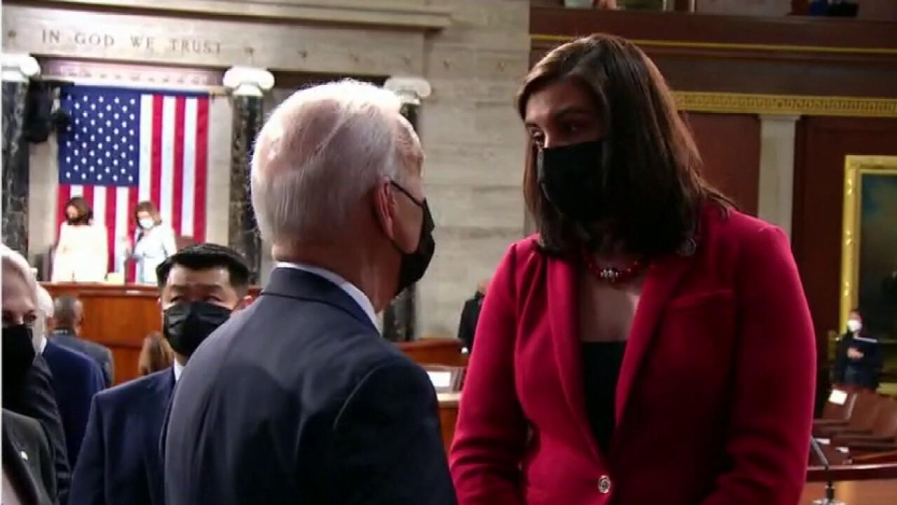 Rep. Nicole Malliotakis reveals what she spoke to Biden about following speech