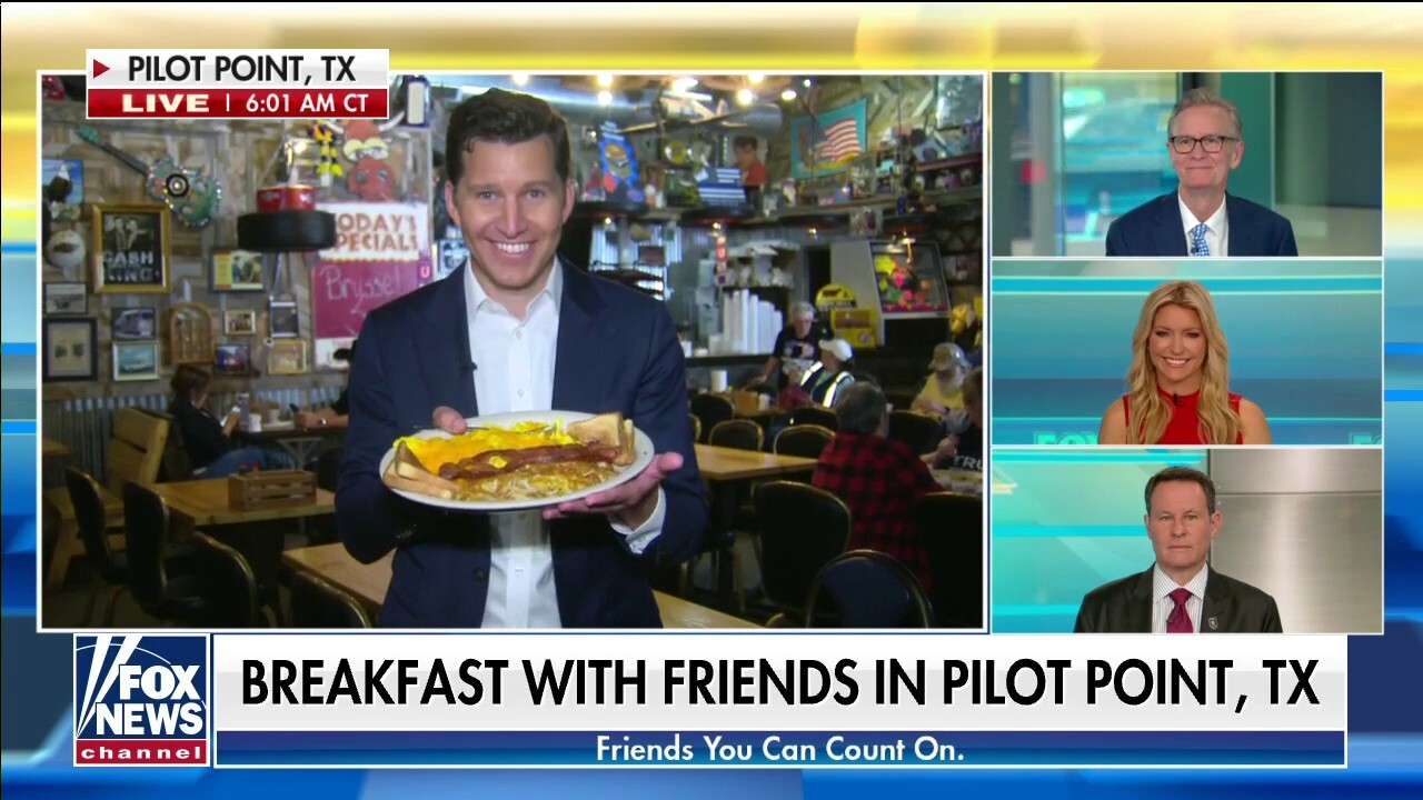 Will Cain samples breakfast favorites at Bebo's and Kathy's Cafe
