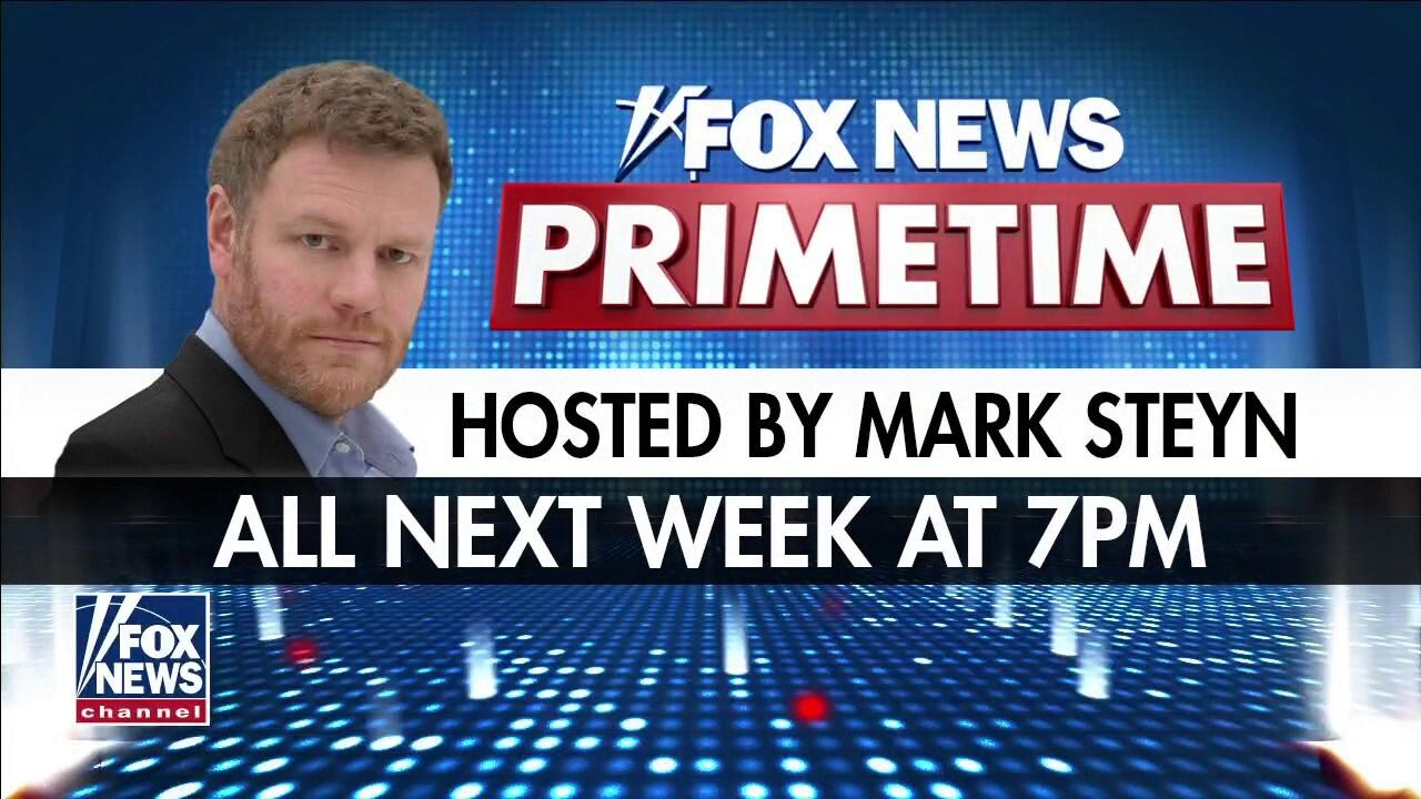 Mark Steyn announces he will host 'FOX News Primetime' next week