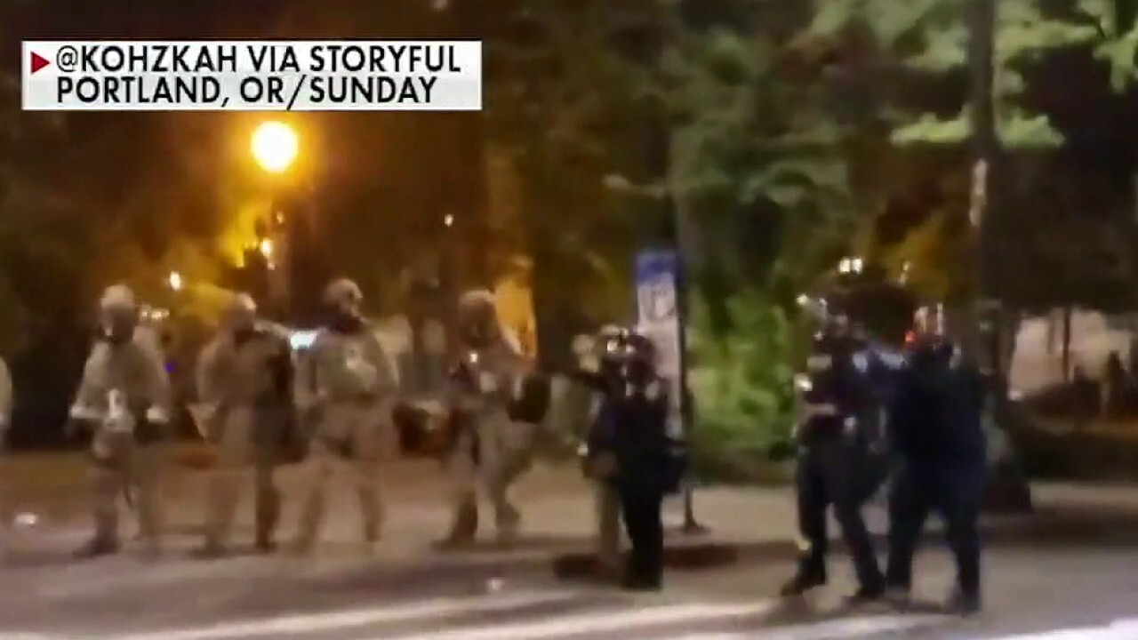 Anti-fascist group reportedly suspected of role in provoking Portland, Oregon protests