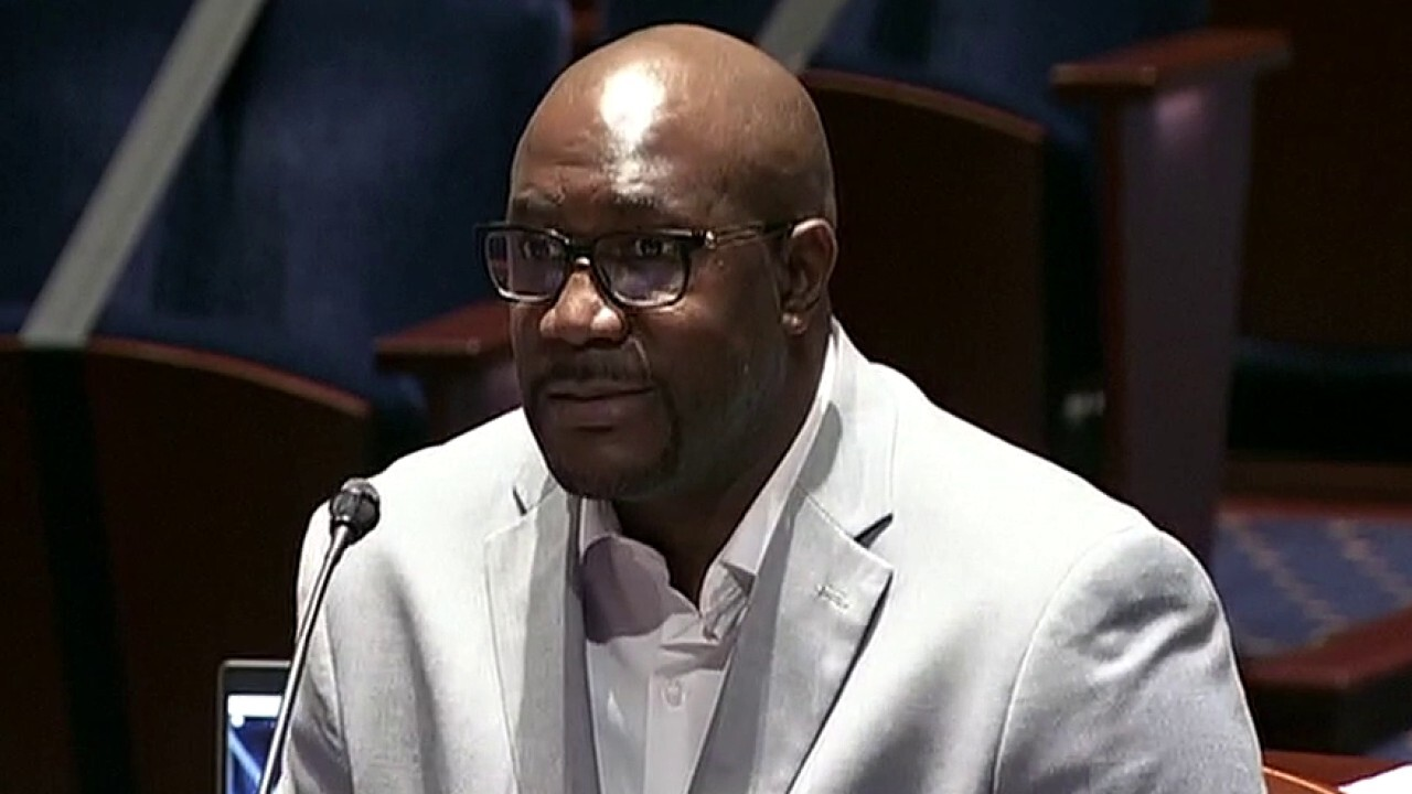 George Floyd's brother makes emotional plea for police reform on Capitol Hill