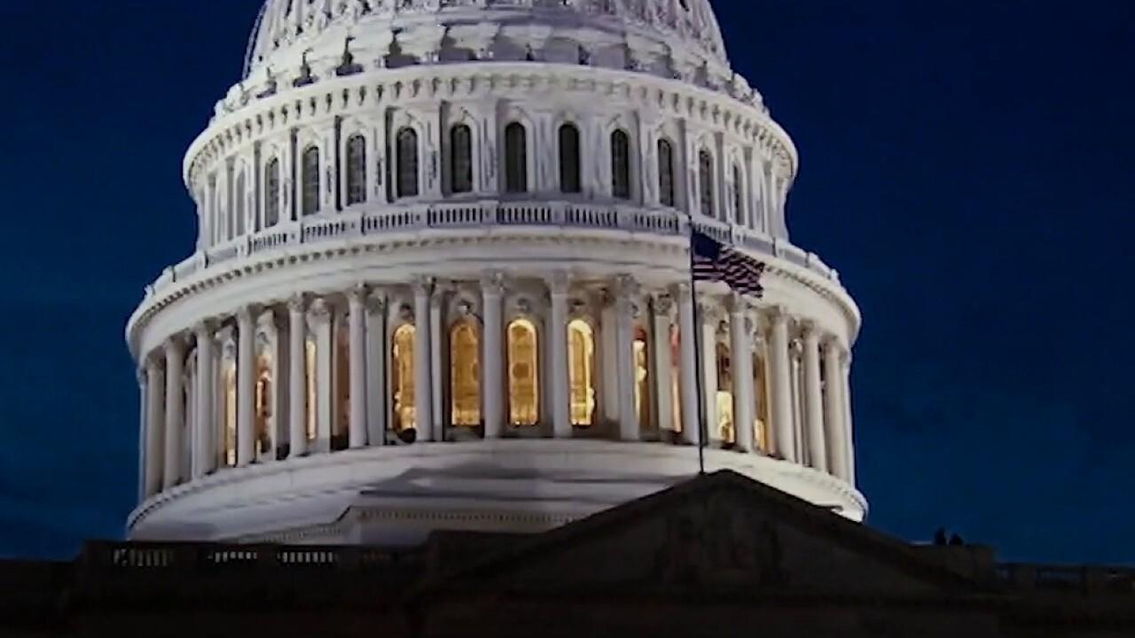 Capitol building secured hours after Trump supporters halt vote count