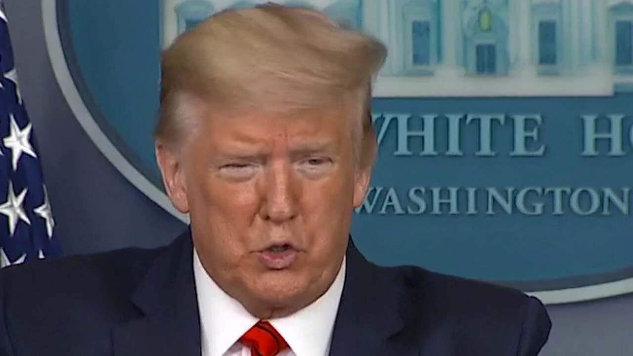 Trump rips 3 big papers over virus