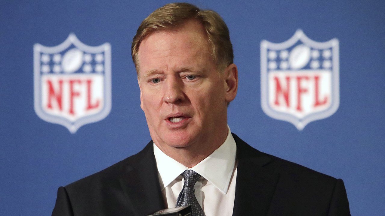 Trump slams NFL anthem protests after commissioner backs players' peaceful protests