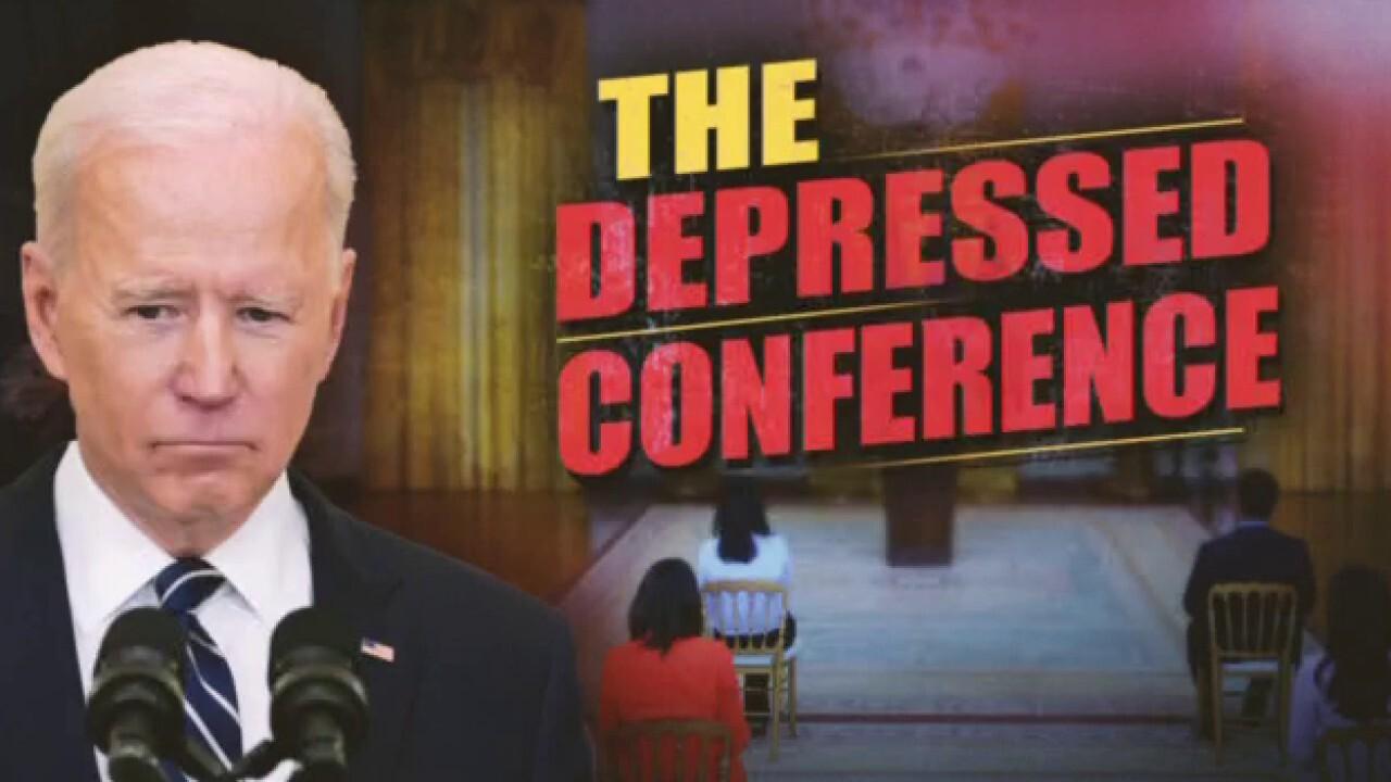 Ingraham: Biden shows 'true endgame' at presser, 'deny, deflect, delay and distract'
