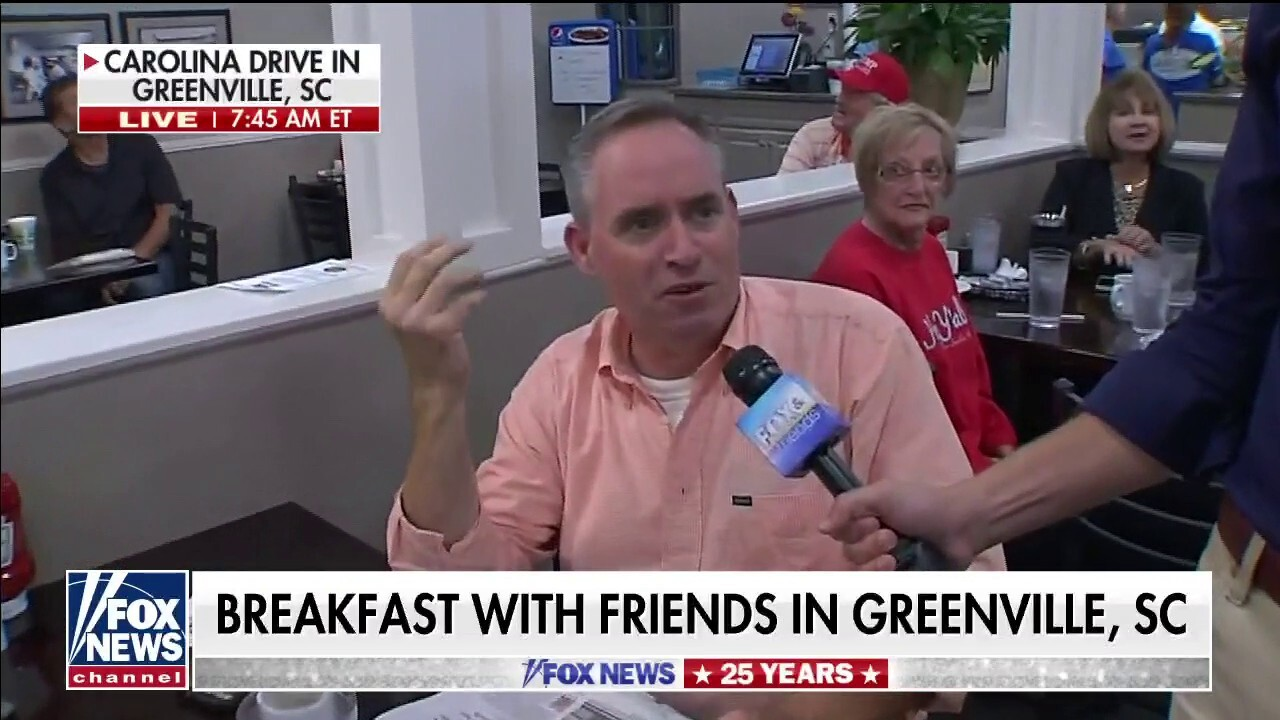 Fox News celebrates 25 years: Will Cain has 'Breakfast with Friends' at Carolina Drive In