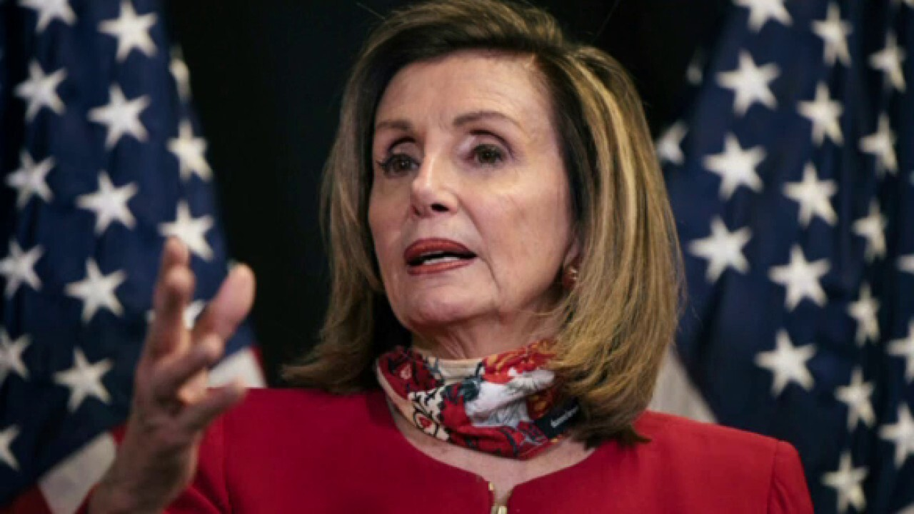 Pelosi has thin majority for her House speakership bid