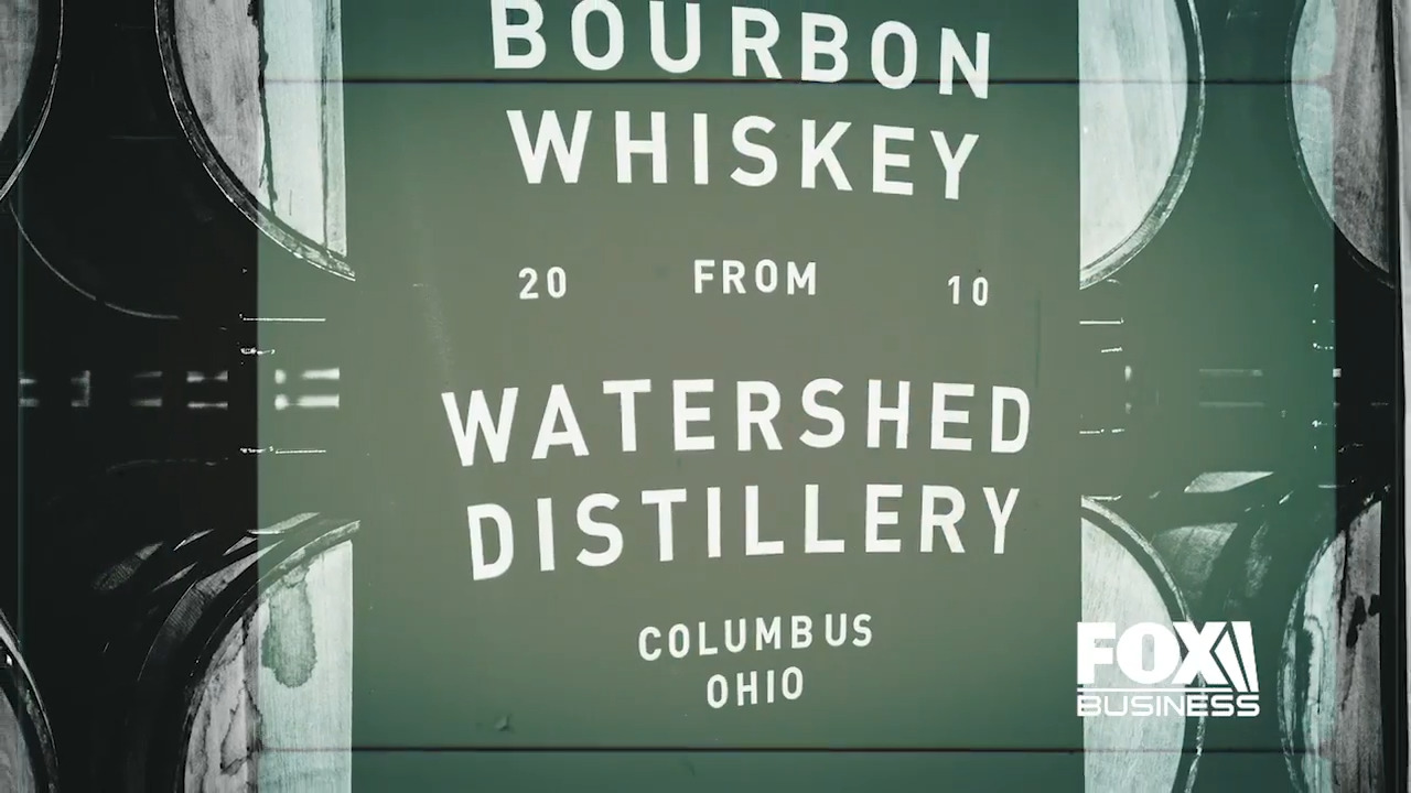 Greg Lehman, co-founder and owner of Ohio's Watershed Distillery, was able to quickly pivot his business amid the coronavirus pandemic, saving his decade-old distillery.