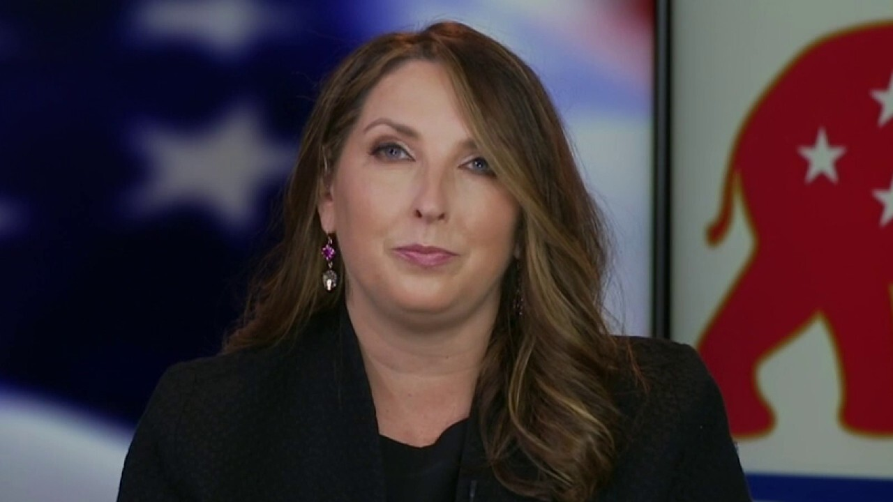 Ronna McDaniel reacts to Biden hitting campaign trail to key battleground states