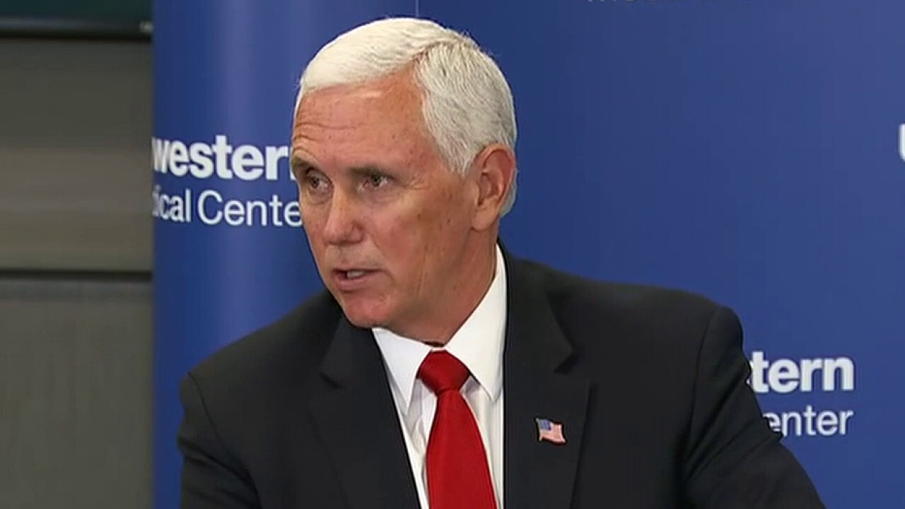 Pence calls on Americans to 'wear a mask'