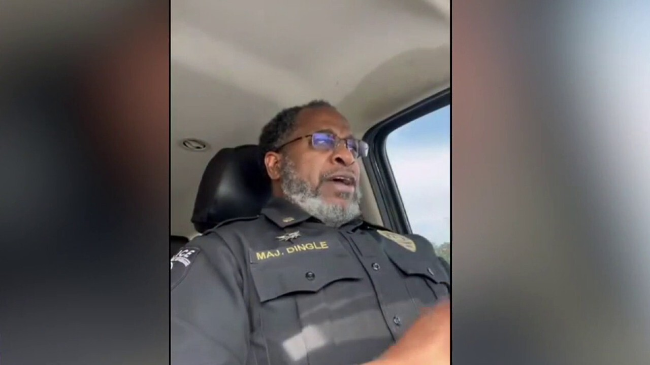 Police officer's emotional message on treatment of law enforcement goes viral