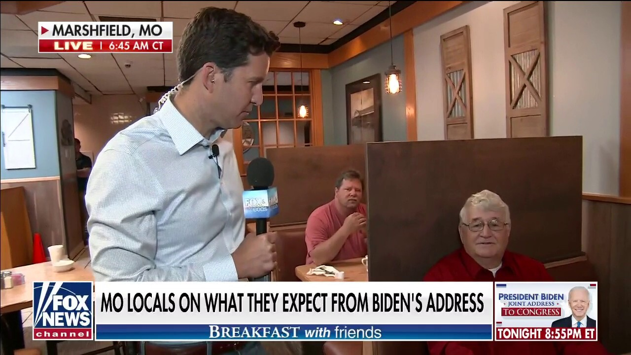 Missouri diners tell Will Cain they have concerns with Biden's leadership