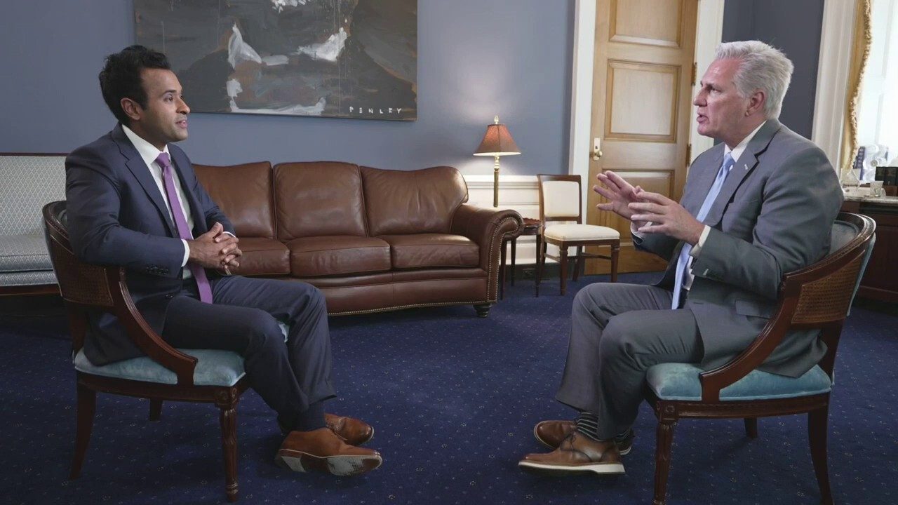 Rep. McCarthy talks political discrimination on Vivek Ramaswamy's 'Woke, Inc.' special