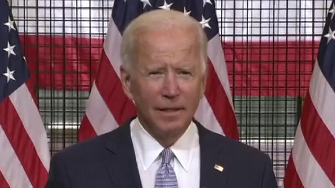 Joe Biden skips questions at latest campaign event