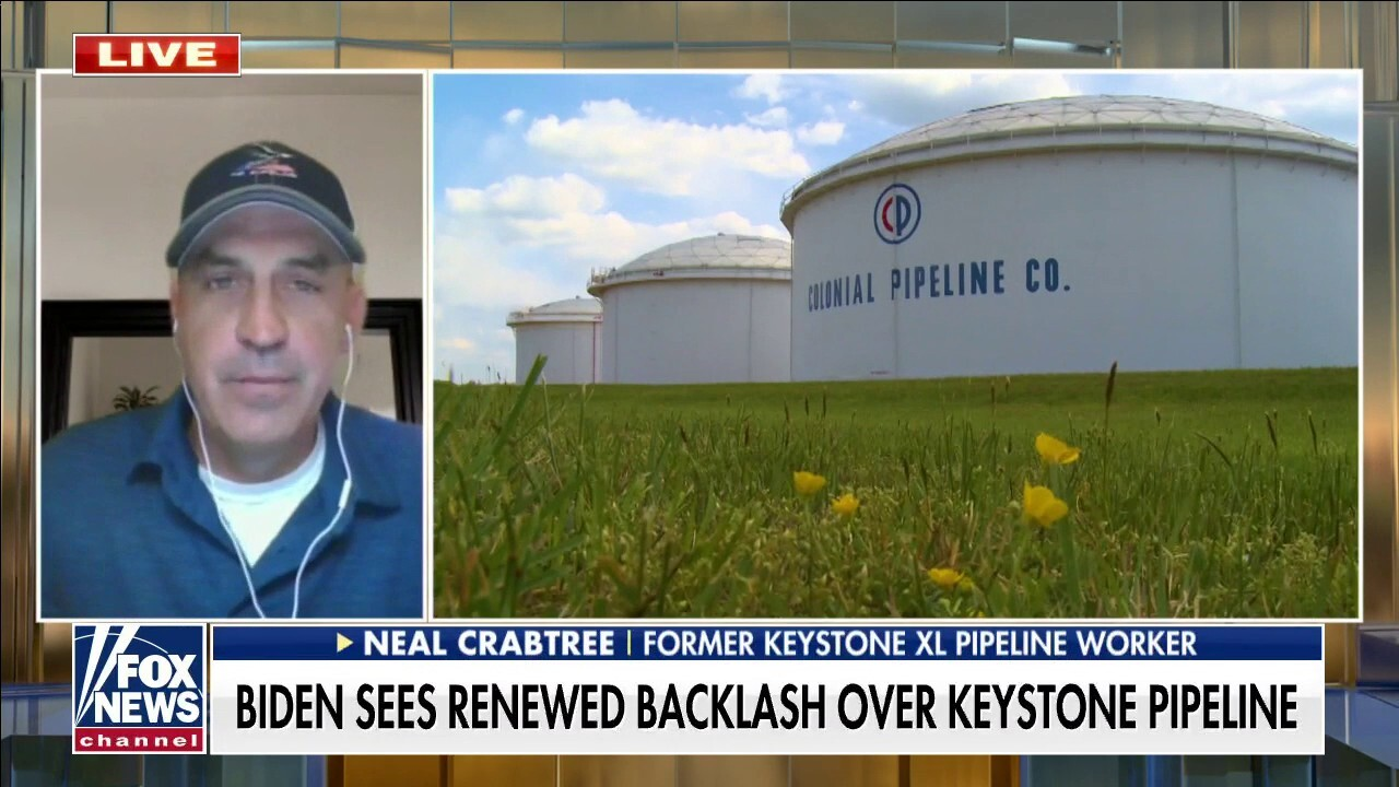 Former Keystone XL pipeline worker: There are 'consequences' to Biden's push for green energy