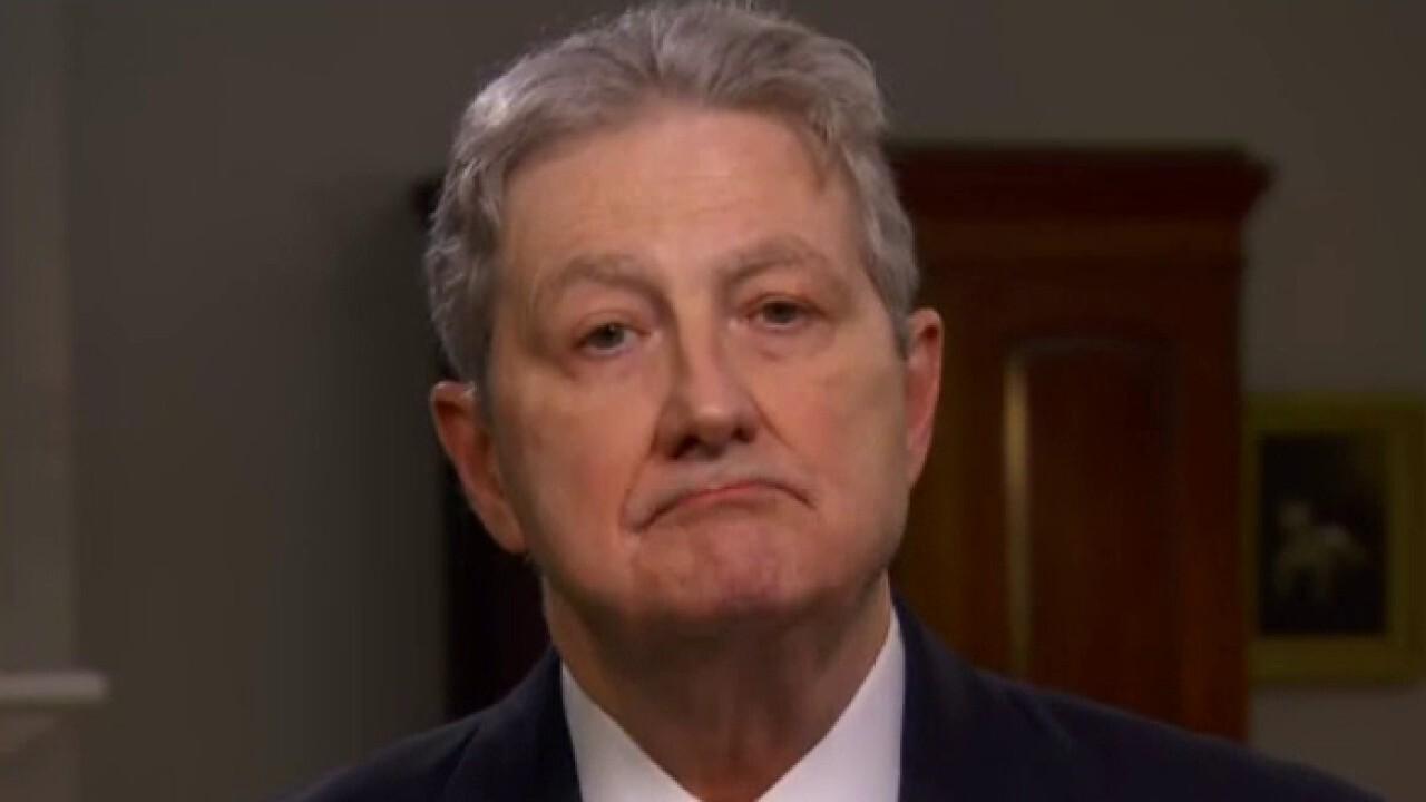 Sen. Kennedy breaks down Biden's blurry foreign policy