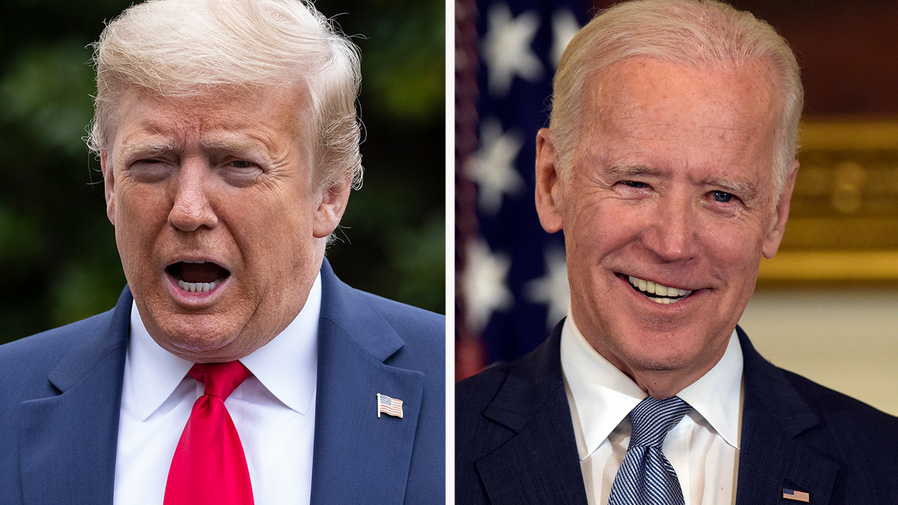 Trump dismisses Biden as factor in 2020 race, says he's running against the media instead