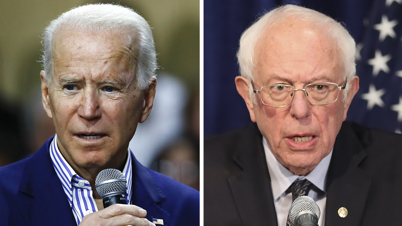 Biden, Sanders talk coronavirus on campaign trail