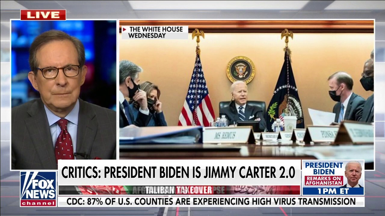 Wallace: 'It's been a mess' this week for President Biden