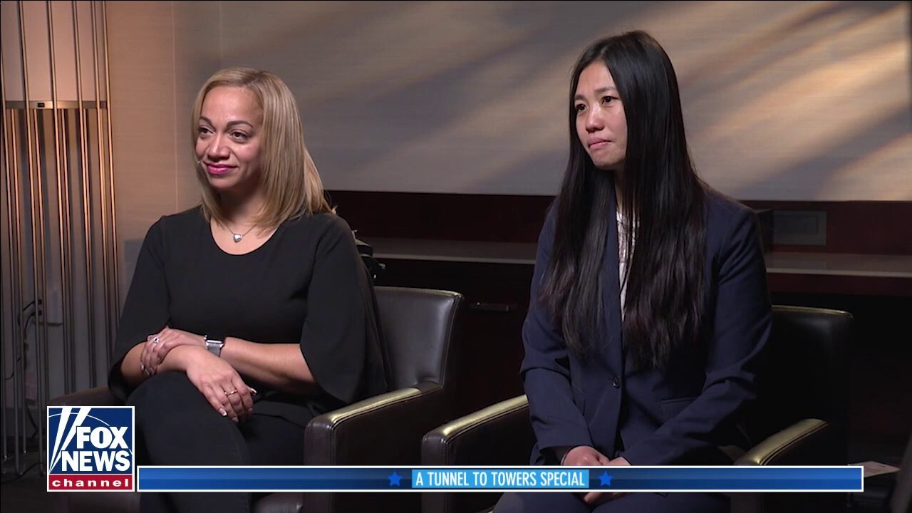 Widows of 2 slain NYPD officers tell their story