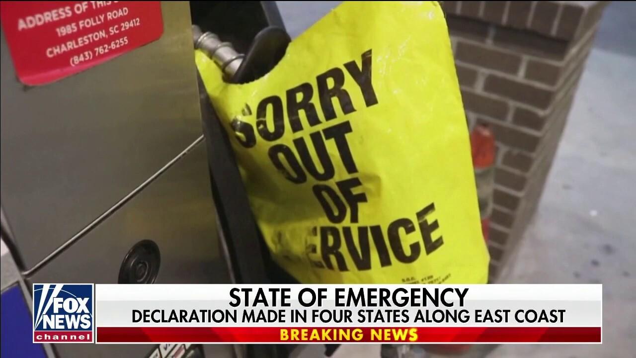 Panic buying making gas shortages worse along East Coast
